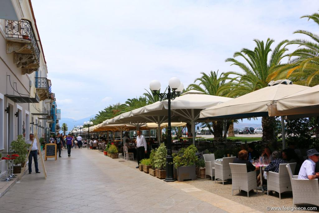 Cafes at the promenade